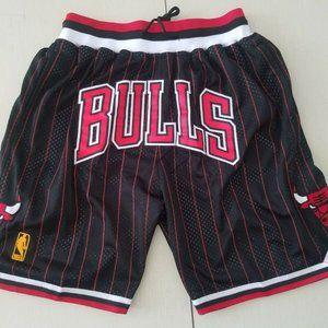 90's Chicago Bulls Basketball Shorts